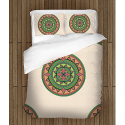 Спален комплект със завивка Цветна Мандала - Colorful Mandala