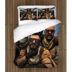 Геймърски чаршафи за легло Кънтър Страйк Селфи - Counter Strike Selfie