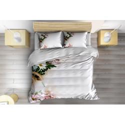 Спално бельо с олекотена завивка Цветен букет - Flowers Bouquet