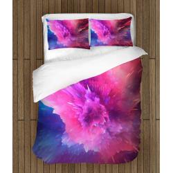 Спално бельо със завивка 3D Цветна боя - Color Paint