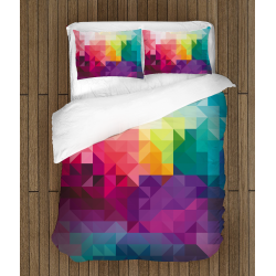 Спално бельо Цветна палитра - Colorful Palette