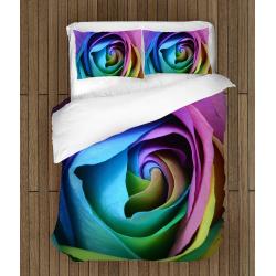 Спално бельо със завивка 3D Роза - Rose