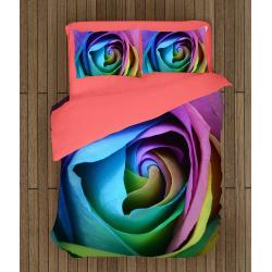 3D Луксозно спално бельо Роза - Rose