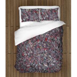 Спален комплект с олекотена завивка Цветна текстура - Colorful Texture