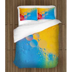 Арт спално бельо Цветни кръгове - Color Cyrcles