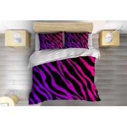 Комплект спално бельо Цветна Зебра - Colorful Zebra