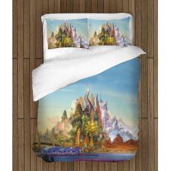 Комплект спално бельо със завивка Дисни - Disney