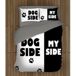 Двуцветно спално бельо Домашен любимец - Dog Side