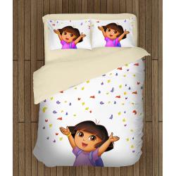 Детски чаршафи Дора Изследователката - Dora the explorer
