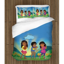 Детско спално бельо Дора и приятели - Dora and Friends