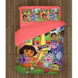 Спален комплект за деца Дора Изследователката - Dora the Explorer