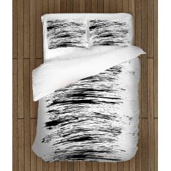 Спално бельо с олекотена завивка 3D Драсканица - Scratches