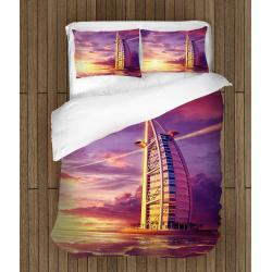 Романтично Спално бельо със завивка Дубай Бурдж ал Араб - Dubai Burj Al Arab