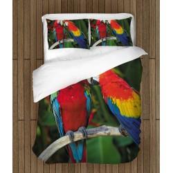 Спален комплект Двойка папагали - Couple Parrots