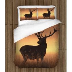 Комплект спално бельо Елен в пустощта - Deer of the Desert