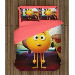 Модерно спално бельо Емотикони - Emoji Movie