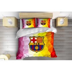 Футболен Спален комплект със завивка Барселона - FC Barcelona