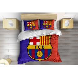 Футболно Спално бельо с олекотена завивка Барселона - FC Barcelona