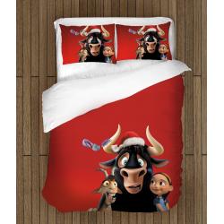 Детско спално бельо със завивка Бикът Фердинанд - Ferdinand