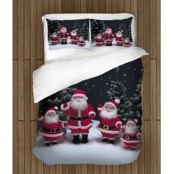 Коледно спално бельо Фигурки на дядо Коледа - Santa Claus Figurines