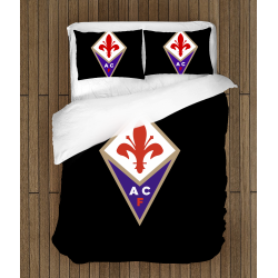 Футболно спално бельо със завивка 3D Фиорентина - Fiorentina