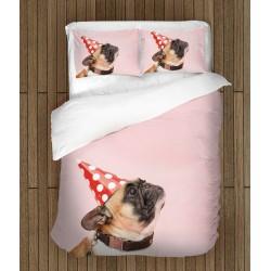 Спален комплект Френски булдог на парти - French Bulldog Party
