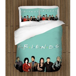 Фенско спално бельо Приятели - Friends