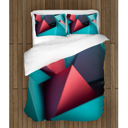 Стилно 3D спално бельо Геометрични форми - Geometrical Forms