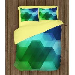 Спално бельо със завивка 3D Геометрия - Geometry