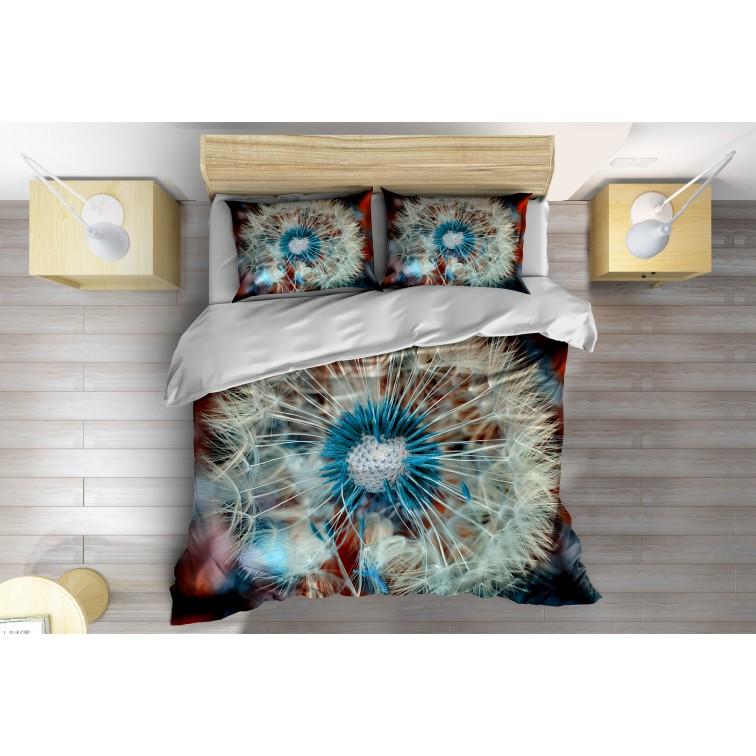 Красиво 3D спално бельо Глухарче - Dandelion