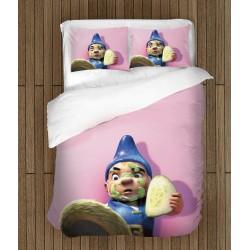 Детски чаршафи за легло Гномео и Жулиета - Gnomeo and Juliet