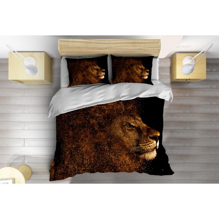 Чаршафи със завивка за легло Златен лъв - Golden Lion