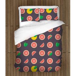 Спален комплект с олекотена завивка с плодове Грейпфрут - Grapefruit