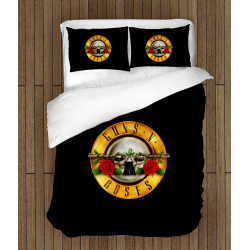 Фенско спално бельо Guns n' Roses - Гънс ен Роузес