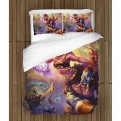 Фенски чаршафи за легло Hearthstone