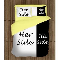 Красиво спално бельо Нейната страна - Her Side