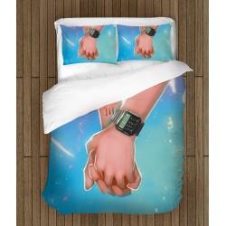 Спално бельо за влюбени Дръж ръката ми - Hold My Hand