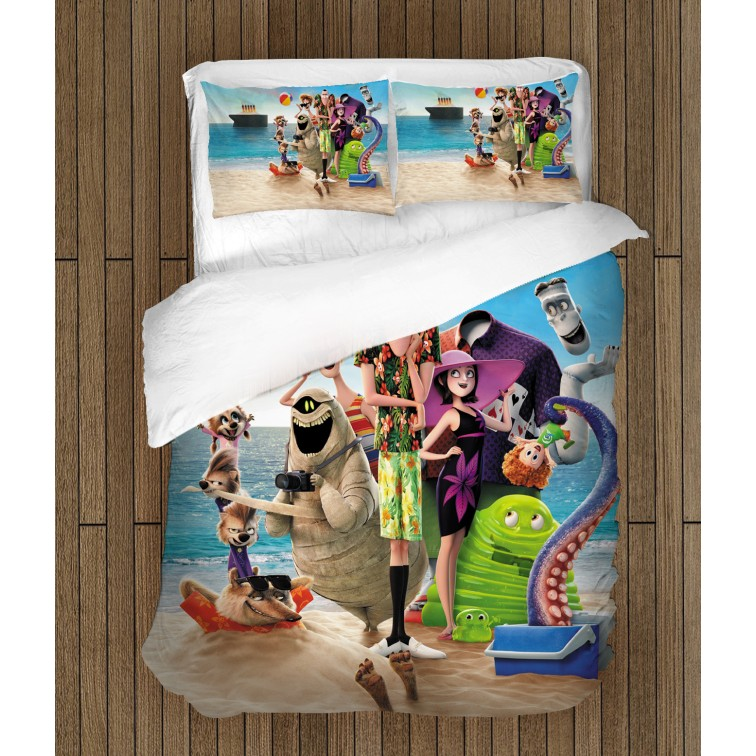 Детски чаршафи за легло Хотел Трансилвания - Hotel Transilvania