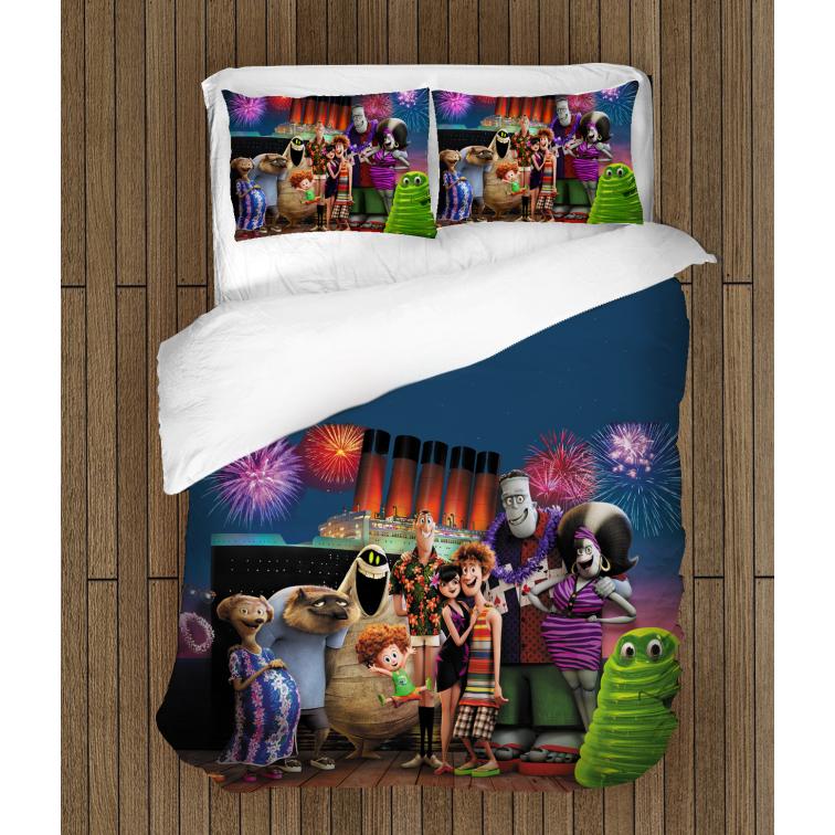 3D спално бельо Хотел Трансилвания - Hotel Transilvania