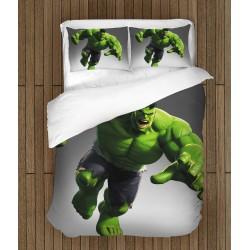 Фенско спално бельo Хълк - Hulk