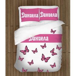 Спално бельо с име Даниела - Daniela
