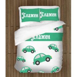 Детско спално бельо с име Пламен - Plamen