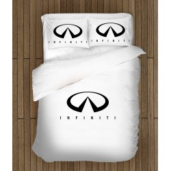 3D спален комплект с лого Инфинити - Infiniti Logo