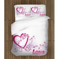 Романтичен спален комплект Истинска любов - Real Love