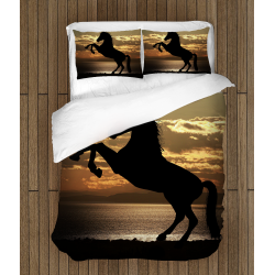 Спално бельо Кон - Horse