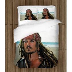 Фенски комплект спално бельо Джак Спароу - Jack Sparrow