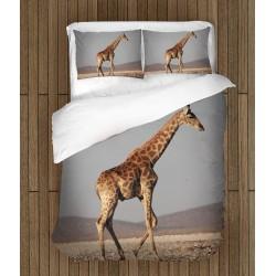 Спален комплект Жираф в пустощта - Giraffe in the Desert