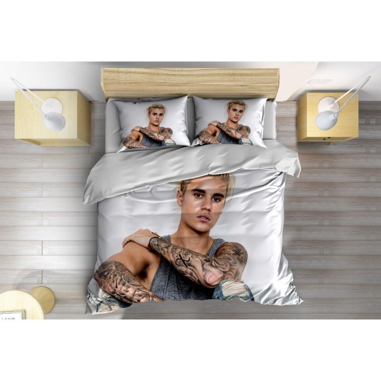 Спален комплект със завивка Джъстин Бийбър - Justin Bieber Blond
