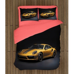 Спален комплект Жълто Порше - Yellow Porsche