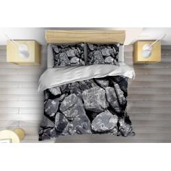 Стилно спално бельо Камъни - Stones